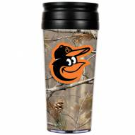 Baltimore Orioles RealTree Camo Coffee Mug Tumbler