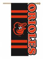 Baltimore Orioles Applique Flag