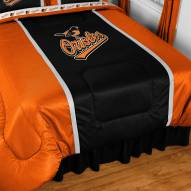 Baltimore Orioles Sidelines Bed Comforter