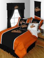 Baltimore Orioles Sidelines Bed Set