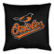 Baltimore Orioles Sidelines Pillow