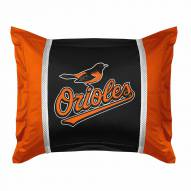 Baltimore Orioles Sidelines Pillow Sham