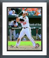 Baltimore Orioles Steve Pearce 2015 Action Framed Photo