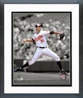 Baltimore Orioles Ubaldo Jimenez 2014 Spotlight Action Framed Photo