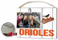 Baltimore Orioles Weathered Logo Photo Frame