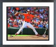 Baltimore Orioles Wei-Yin Chen 2014 Action Framed Photo