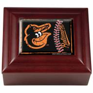 Baltimore Orioles Wood Keepsake Box