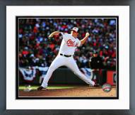 Baltimore Orioles Zach Britton 2014 Action Framed Photo