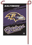 "Baltimore Ravens 11"" x 15"" Garden Flag"