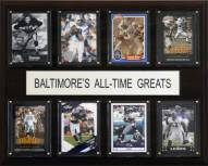"Baltimore Ravens 12"" x 15"" All-Time Greats Plaque"