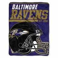 Baltimore Ravens 40 Yard Dash Blanket