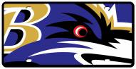 Baltimore Ravens Acrylic Mega License Plate