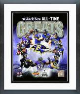 Baltimore Ravens Baltimore Ravens All Time Greats Composite Framed Photo