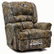 Baltimore Ravens Big Daddy Camo Recliner