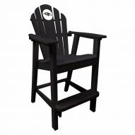 Baltimore Ravens Black Pub Captain Chair