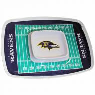 Baltimore Ravens Chip & Dip Tray