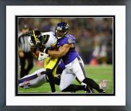 Baltimore Ravens Daryl Smith 2014 Action Framed Photo