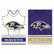 Baltimore Ravens Double Sided Jersey Garden Flag