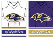 Baltimore Ravens Double Sided Jersey Flag