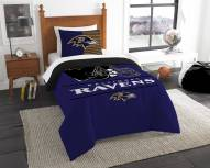 Baltimore Ravens Draft Twin Comforter Set