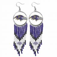 Baltimore Ravens Dreamcatcher Earrings