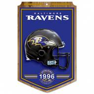 "Baltimore Ravens ""Established"" Wood Sign"