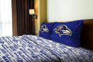 Baltimore Ravens Full Bed Sheets