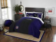 Baltimore Ravens Full Comforter & Sham Set