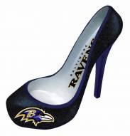 Baltimore Ravens Glitter Shoe Bottle Holder