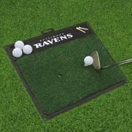 Baltimore Ravens Golf Hitting Mat