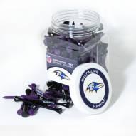 Baltimore Ravens 175 Golf Tee Jar