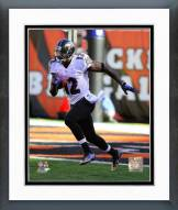 Baltimore Ravens Jacoby Jones 2014 Action Framed Photo