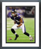 Baltimore Ravens Jimmy Smith 2011 Action Framed Photo