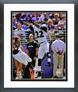 Baltimore Ravens Jimmy Smith 2014 Action Framed Photo