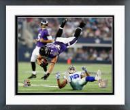 Baltimore Ravens Kyle Juszczyk 2014 Action Framed Photo