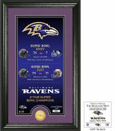 Baltimore Ravens Legacy Bronze Coin Photo Mint