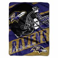 Baltimore Ravens Livin' Large Blanket