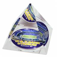 Baltimore Ravens M&T Bank Stadium Crystal Pyramid