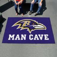 Baltimore Ravens Man Cave Ulti-Mat Rug