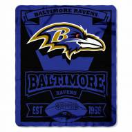 Baltimore Ravens Marque Fleece Blanket