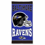 Baltimore Ravens McArthur Beach Towel