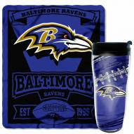 Baltimore Ravens Mug & Snug Gift Set