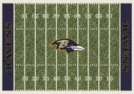Baltimore Ravens NFL Home Field Area Rug