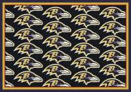 Baltimore Ravens NFL Repeat Area Rug