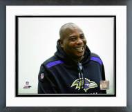 Baltimore Ravens Ozzie Newsome 2015 Posed Framed Photo