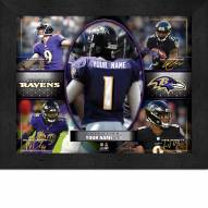 Baltimore Ravens Personalized Framed Action Collage