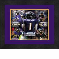 Baltimore Ravens Personalized 13 x 16 Framed Action Collage