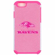 Baltimore Ravens Pink Pebble Grain iPhone 6/6s Case