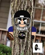 Baltimore Ravens Player Tree Face