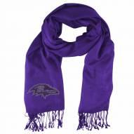 Baltimore Ravens Purple Pashi Fan Scarf